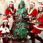 Winkelcentrum promotie Kerst